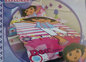DORA-the-EXPLORER-BNIP-Single-Bed-Quilt-Doona-Duvet-cover-set