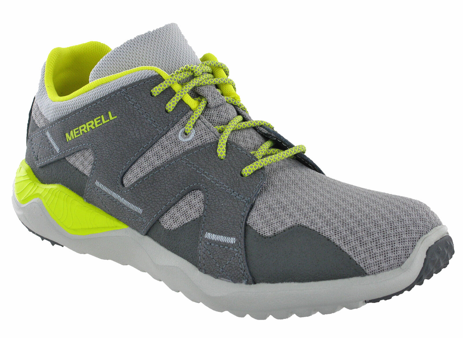 newest detailed pictures reasonable price Details about Merrell 1SIX8 Mesh Trainers Mens Lightweight Wild Dove  Breathable Walking J91349