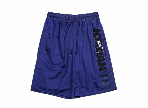 Air Jordan Mens Taped blue white  Bball Shorts AJ1108-433