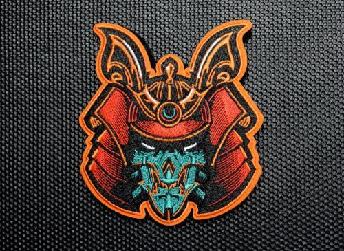 Premium Embroidered Samurai Bot Morale Patch Hydro74 Bushido Hook/Loop Backing