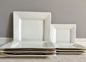 New 8 Piece Dinner and Salad Plate Combo