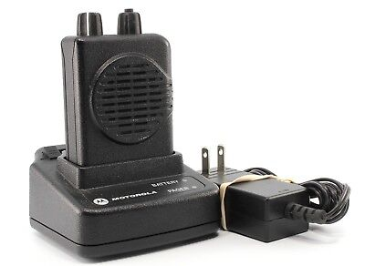 Motorola Minitor V Two-tone Voice Pager F1- 154.1300 F2- 155.1600 Bad Battery