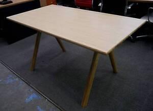 New Natural Ash Timber Scandi Jane Desk Table Home Office Melbourne CBD Melbourne City Preview