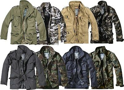 (Brandit M65 Parka Jacket Field Winter 2 in 1 with Lining up to Size 7XL 3108)