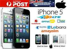 AS New IPhone 5 unlocked full package Strathfield Strathfield Area Preview