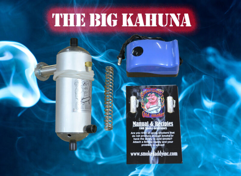 XL Cold smoke Generator The Big Kahuna for Hot or Cold smoking MADE IN THE USA