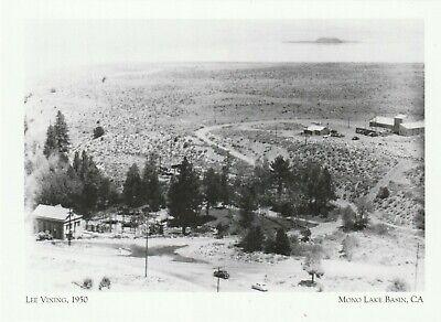 Kalifornien Post (* Kalifornien Postkarte Lee Vining, 1950 * Mono Lake Becken, Ca.- (H11))