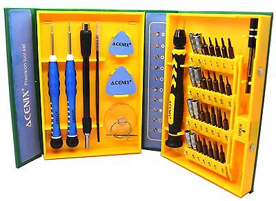 38 in 1 Repair Opening Tool Screwdrivers Set Kit For Cell Phone and Tablet Ace Cell Phone