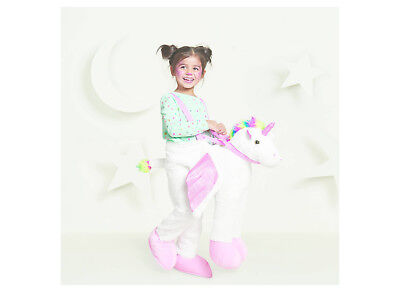 *NEW* Toddler Plush Unicorn Rider Costume  Full Body  GIRLS Hyde &Eek! Boutique  - Unicorn Rider Costume