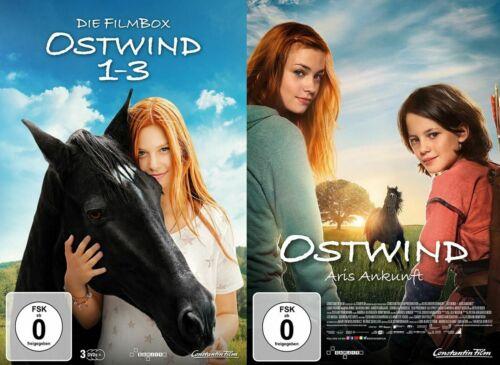 4 DVDs * OSTWIND 1 + 2 + 3 + 4 (Aufbruch nach Ora - Aris Ankunft) # NEU OVP +