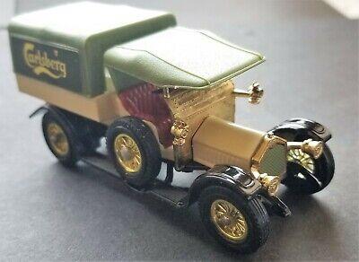 Vintage Matchbox Models of Yesteryear Y-13 1918 Crossley Carlsberg