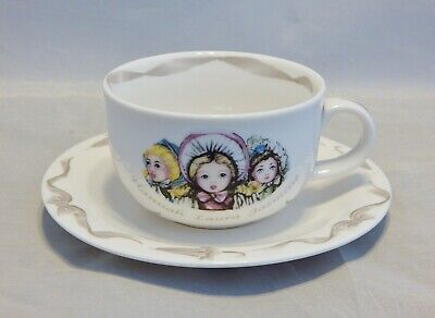 Paul Cardew Victorian Dolls Cup and Saucer Set