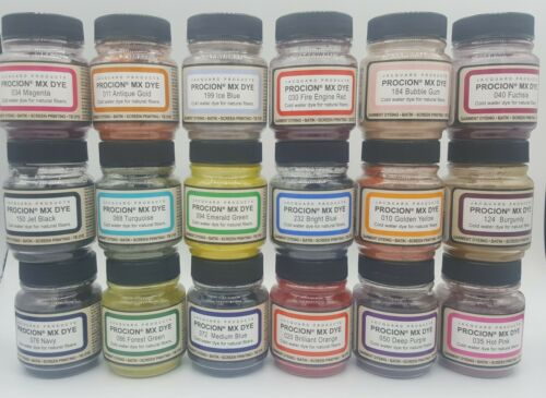Jacquard Procion MX Dye  2/3 Oz. Bottle - Pick Your Color - BUY MORE AND SAVE!