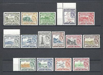 ST CHRISTOPEHR NEVIS ANGUILLA 1954-63 SG 106A/18 MNH Cat £85