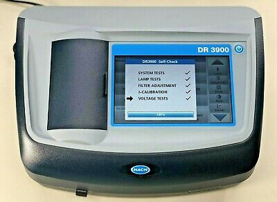 Excellent Condition Hach Dr3900 Lab Vis Spectrophotometer
