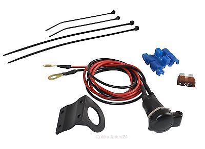 12V Nachrüst Steckdose für Bordnetz (BMW Dose) passend für Motorrad oder KFZ