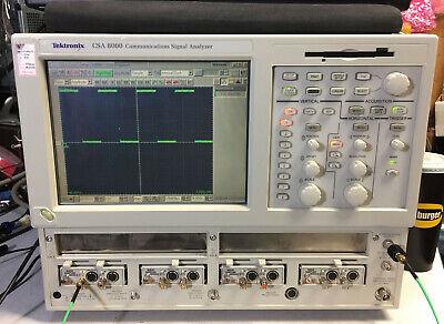 Tektronix Csa8000 Communications Signal Analyzer Modular Telecomdatacom Tester
