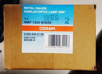 OSRAM HMI 1200 W/DXS Display / Optic Lamp - NEW in original pack