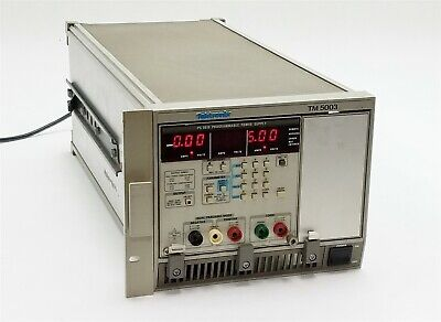 Tektronix Tm 5003 Tm5003 Mainframe Chassis Wps 5010 Programmable Power Supply