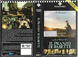 IL-PRANZO-DI-BABETTE-1987-vhs-ex-noleggio