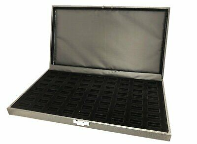 72 Slot Jewelry Ring Case Display Velvet Storage Box