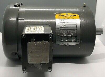 Baldor Motor 3 Phase Vm3554t