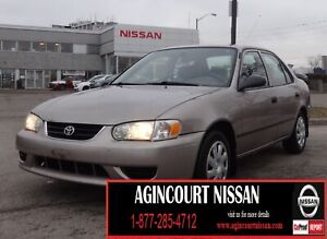 2002 Toyota Corolla CE |AS-IS SUPER SAVER|