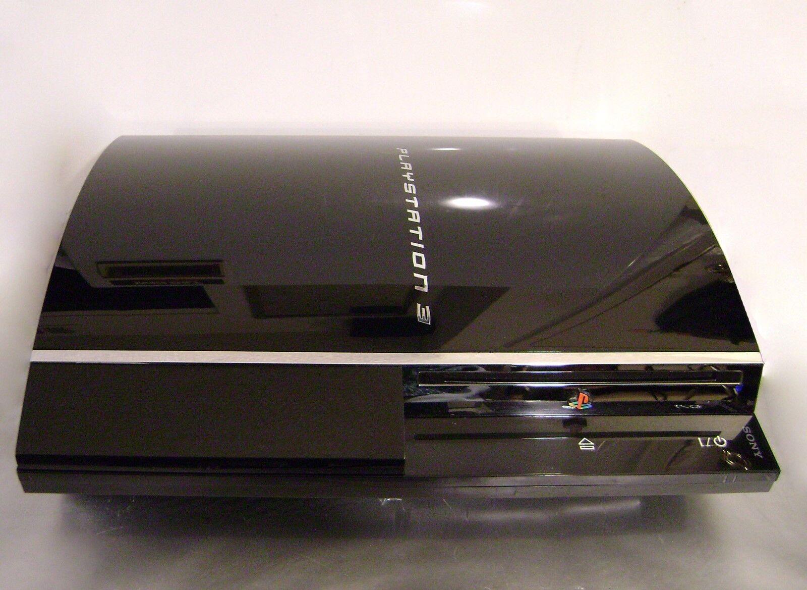 Playstation 3 - Playstation3 Full Backward Compatible CECHA01 LATEST FIRMWARE 60GB LEADED SOLDER