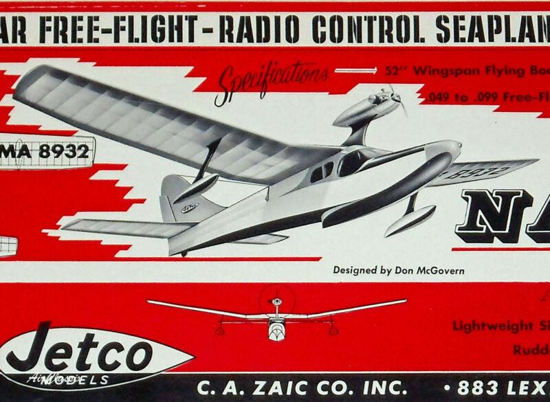 Jetco Kit Plans: Navigator Flying Boat by Don McGovern
