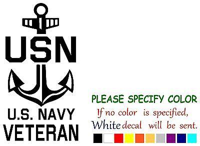 Us Navy Veteran Funny Vinyl Decal Sticker Car Window Laptop Tablet Truck 12