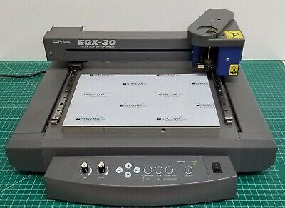 Used Roland Egx-30 Engraving Machine Desktop Rotary Engraver - Free Shipping