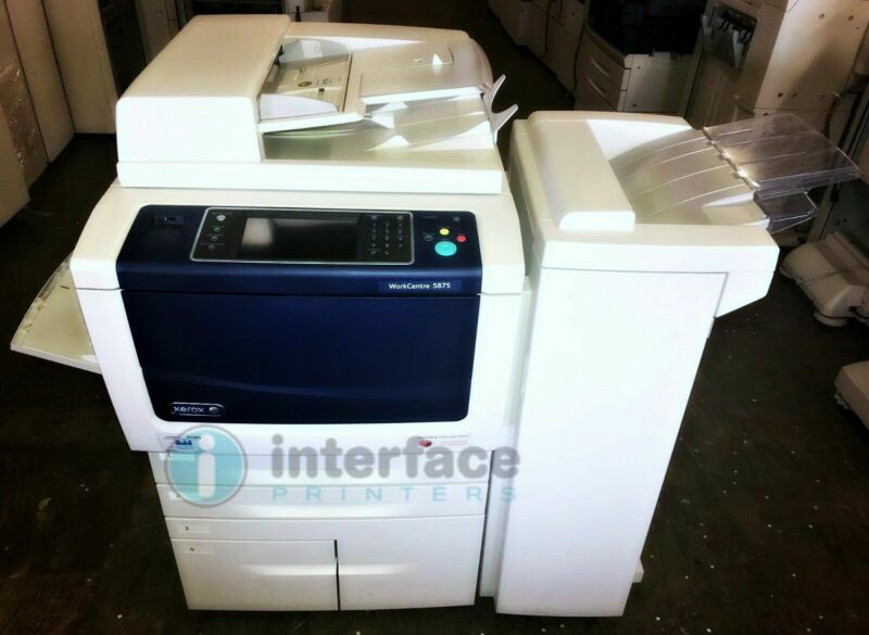 XEROX WORKCENTRE 5875 PRINTER *40K COPIES*