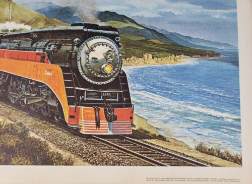 Southern Pacific Railroad - GS4 Daylight by Howard Fogg