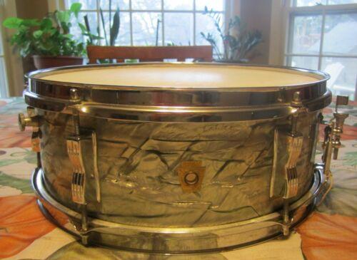 Vintage Ludwig Pioneer Snare Drum in Sky Blue Pearl, 5x14 1967