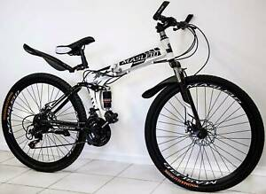 Brand New Dual Suspension Foldable 21 Speed Mountain Bike