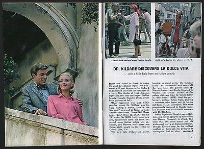 1964 TV ARTICLE~DANIELA BIANCHI~DR KILDARE~RICHARD CHAMBERLAIN~ANNA BRUNO LENA