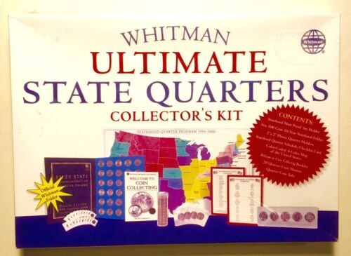 Whitman Ultimate State Quarters Collector