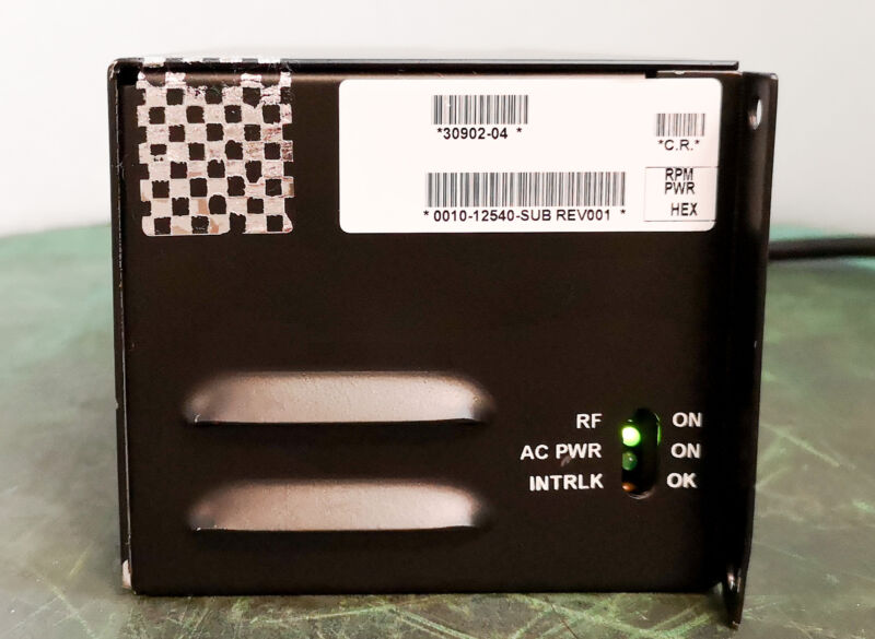 12841 Applied Materials Rf Power Source, 0010-12540 0010-22700w