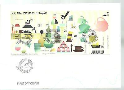 FINLAND FDC - FINNISH DESIGN Kaj Franck S/S 2011