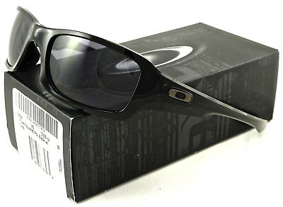 NEW OAKLEY FIVES SQUARED SUNGLASSES OO9238-04 POLISHED BLACK / WARM GREY