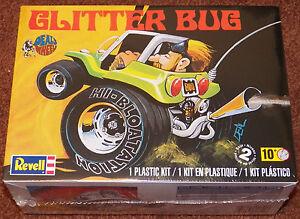 Revell Monogram  Dave Deals Glitter Bug Dune Buggy  Model Kit 1/25