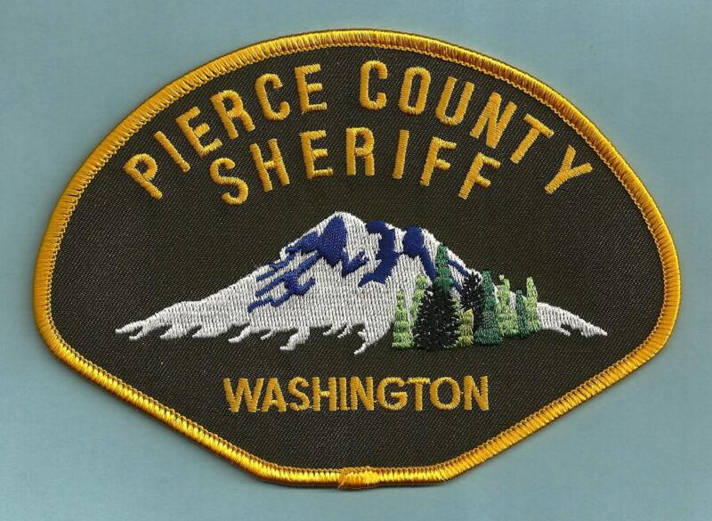PIERCE COUNTY SHERIFF WASHINGTON POLICE PATCH