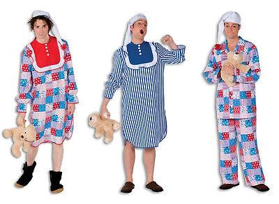 Nacht Hemd Schlaf Anzug Schlafhemd Pyjama Herren Kostüm - Weißen Nachthemd Kostüm