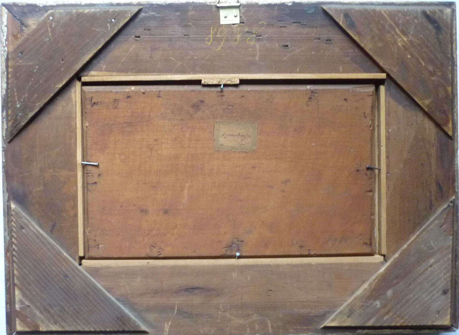 partenkirchen l auf holz um 1890 unleserlich signiert 25 x 15 cm eur 198 00 picclick de. Black Bedroom Furniture Sets. Home Design Ideas