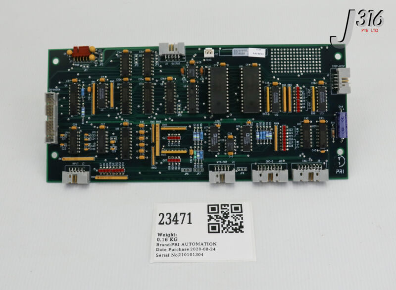 23471 Pri Automation Pcb, Servo Expansion, Pri0042, Pb24499 Bm24499
