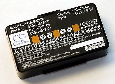NEW Battery Garmin GPSMAP 276 276C 296 396 496 GPS 2200mAh 8.4v 010-10517-00 map