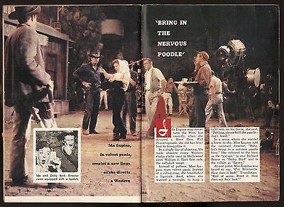 1959 TV ARTICLE~RICHARD BOONE~IDA LUPINO~HAVE GUN,WILL TRAVEL WESTERN~DICKY BIRD