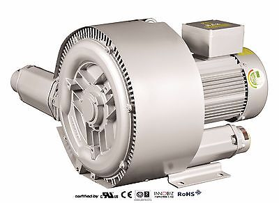 Pacific Regenerative Blower Pb-602 Hrb-602 Ring Vacuum And Pressure Blower