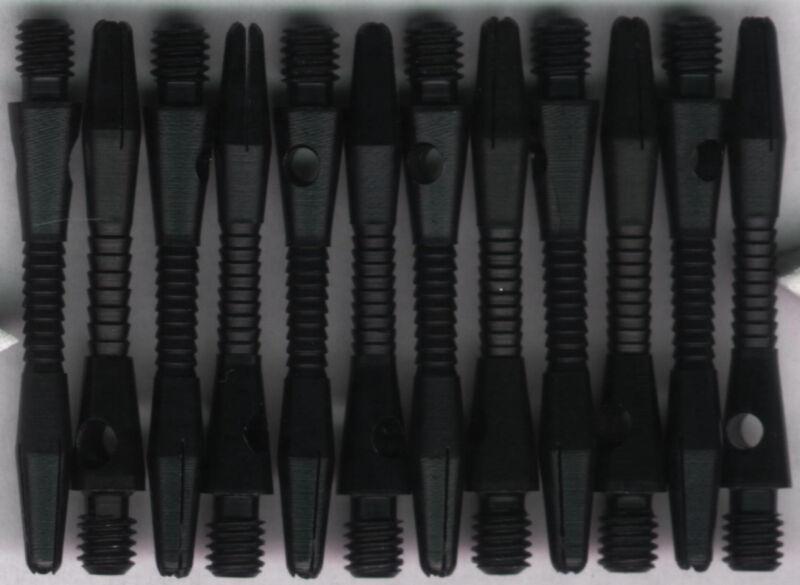 1.5in. 2ba Black RAZOR Aluminum Dart Shafts: 3 per set