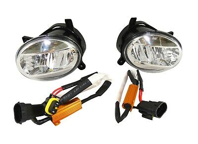 2x Fog Light + Cable Loom L+R LED Clear Glass E4 for Seat Exeo 3R2 3R5 2008+